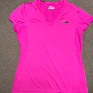 Fila active wear fitted top
